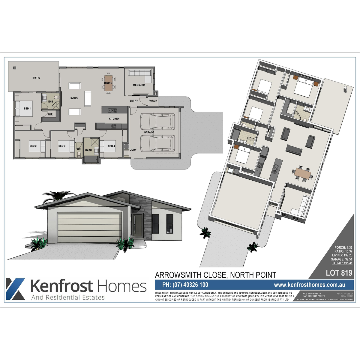 #1F5183 Lot 819 Arrowsmith Close Smithfield QLD 4878 Cairns Key  Highly Rated 9379 Air Conditioning Units Cairns wallpapers with 1200x1200 px on helpvideos.info - Air Conditioners, Air Coolers and more