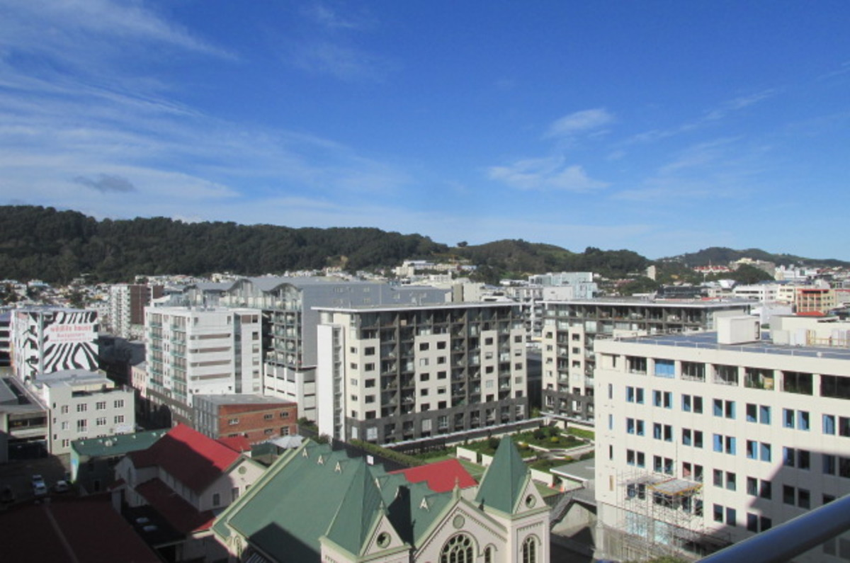 Central City Apartment – with VIEWS!