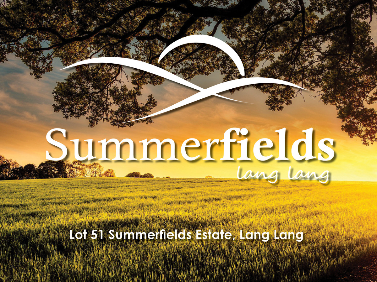 Lot 51, Lot 42 Summerfields Estate, LANG LANG, VIC, 3984 - Image