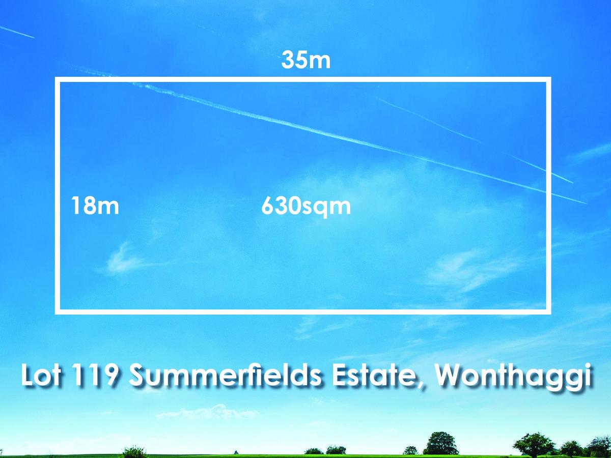 Lot 119,  Summerfields Estate, WONTHAGGI, VIC, 3995 - Image