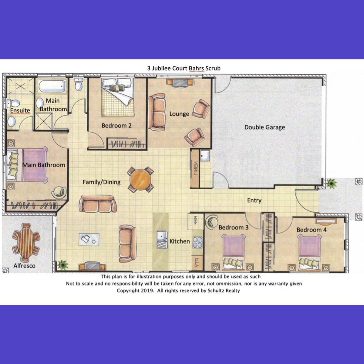 3 Jubilee Court- Bahrs Scrub- Australia 4207, 4 Bedrooms Bedrooms, ,2 BathroomsBathrooms,House,For sale,Jubilee Court,1162