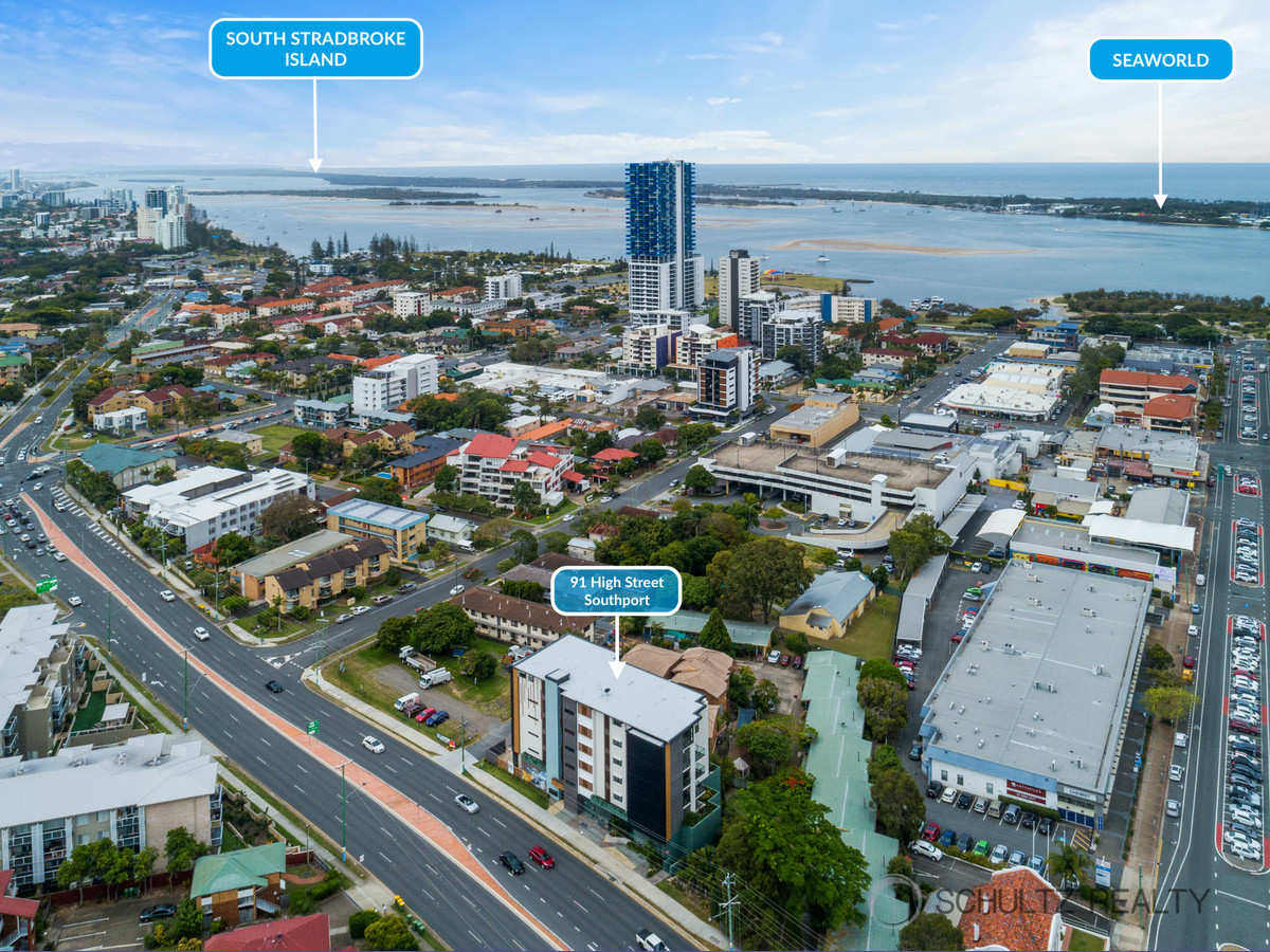 91 High Street, Southport, Australia 4215, 2 Bedrooms Bedrooms, ,2 BathroomsBathrooms,Apartment,For sale,High Street,1258
