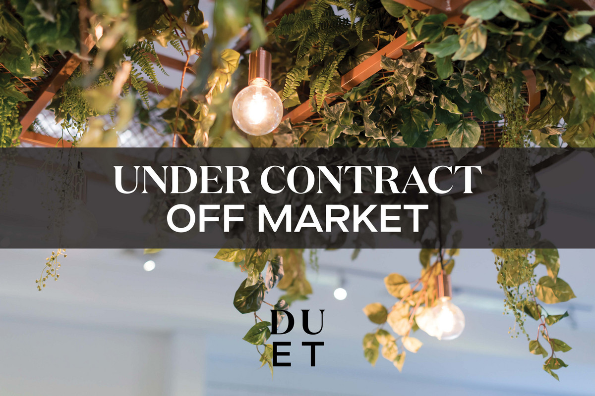 UNDER CONTRACT - SOLD OFF MARKET