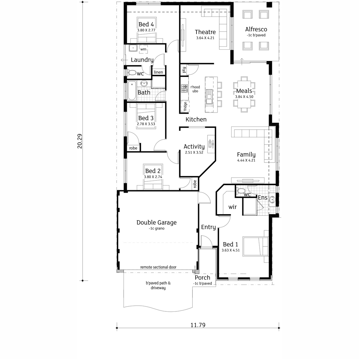 The getaway aussie living homes view floorplan malvernweather Gallery