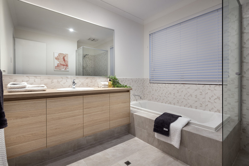 3 bed, 2 bath single storey home design Perth with 7.5m frontage by Aussie Living Homes