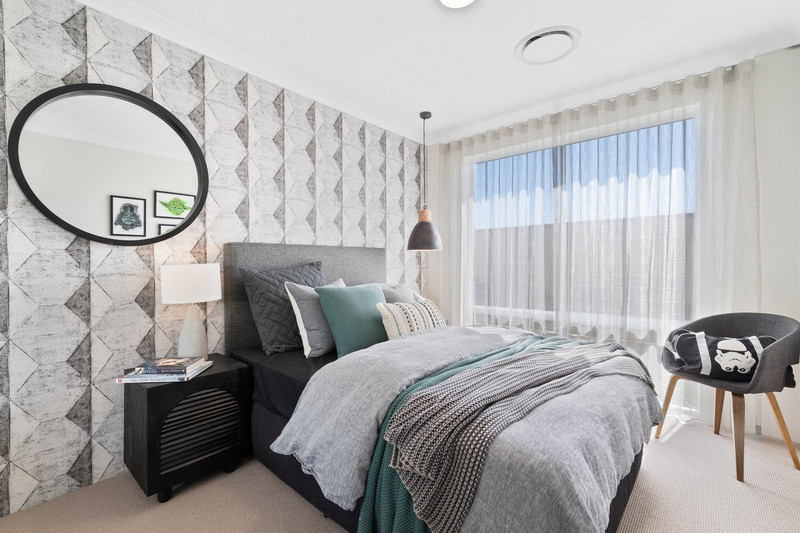 3 bed, 1 bath single storey home design Perth with -m frontage by Aussie Living Homes