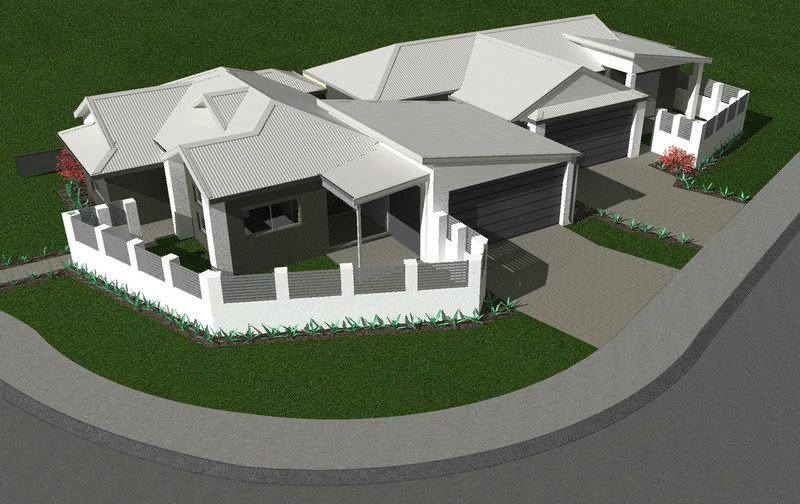 3 bed, 2 bath single storey home design Perth with -m frontage by Aussie Living Homes