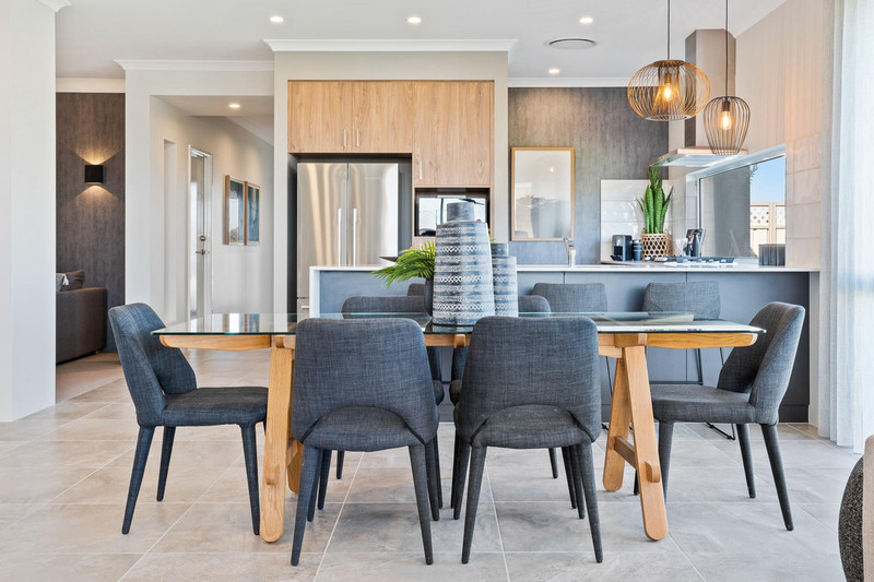 4 bed, 2 bath single storey home design Perth with 12.50m frontage by Aussie Living Homes