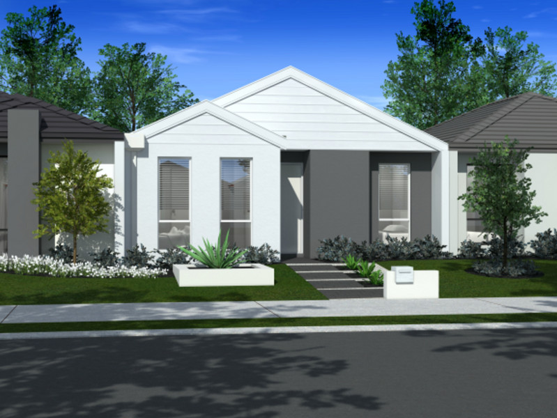 3 bed, 1 bath single storey home design Perth with 7.50m frontage by Aussie Living Homes