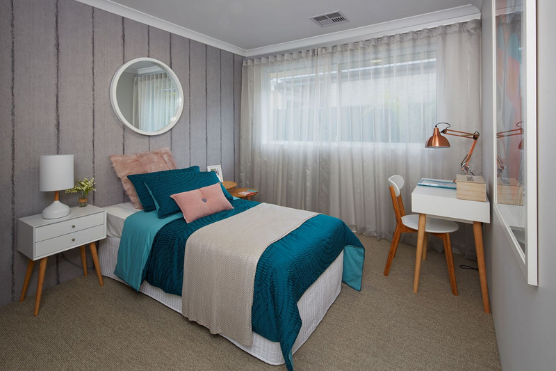 3 bed, 2 bath single storey home design Perth with 8.20m frontage by Aussie Living Homes