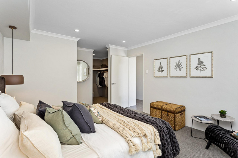 3 bed, 2 bath single storey home design Perth with 12.50m frontage by Aussie Living Homes