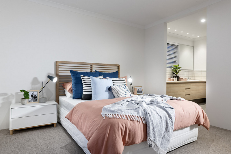 3 bed, 2 bath single storey home design Perth with 9m frontage by Aussie Living Homes
