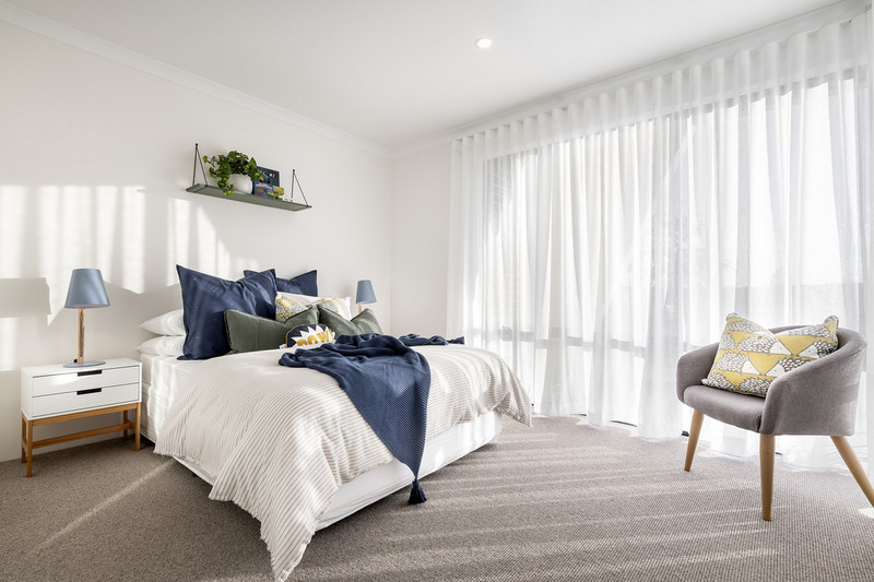 3 bed, 1 bath single storey home design Perth with 8.80m frontage by Aussie Living Homes