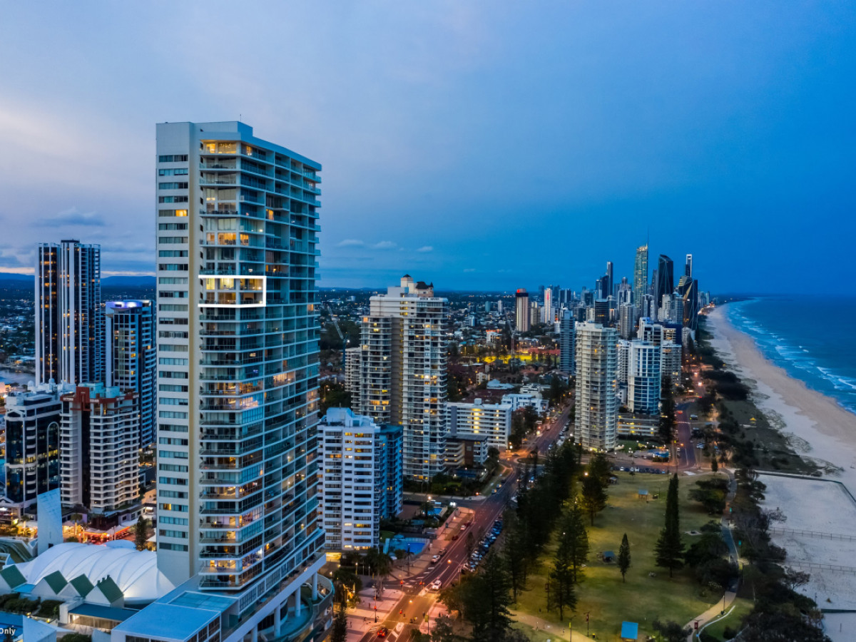 2605 / 159 Old Burleigh Road, Broadbeach Qld 4218