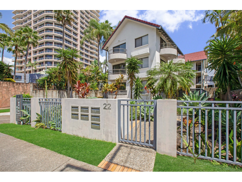 6 / 22 Beach Parade, Surfers Paradise Qld 4217
