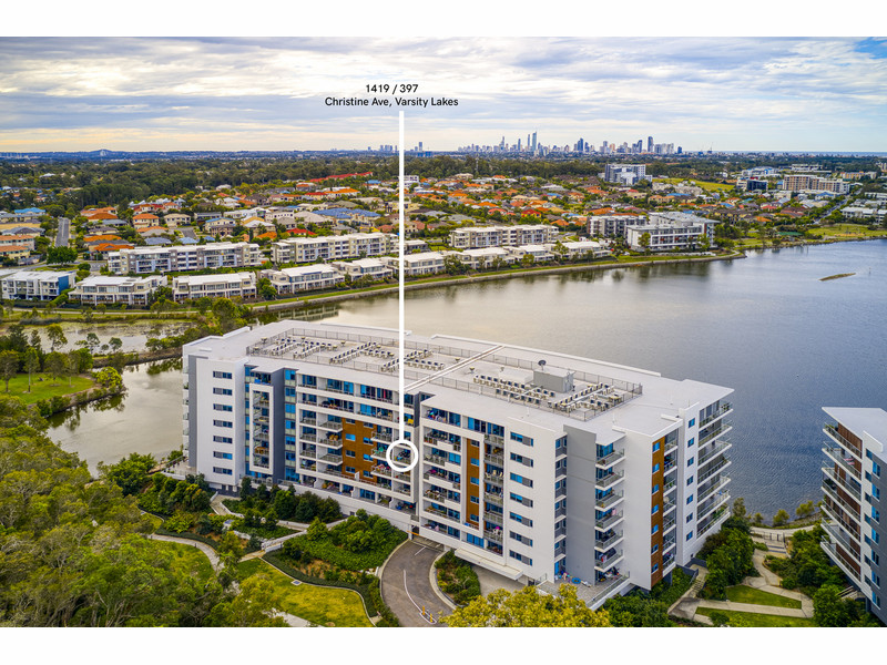 1419 / 397 Christine Avenue, Varsity Lakes Qld 4227