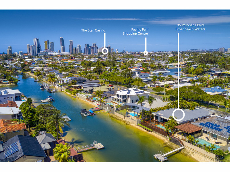 35 Poinciana Boulevard, Broadbeach Waters Qld 4218