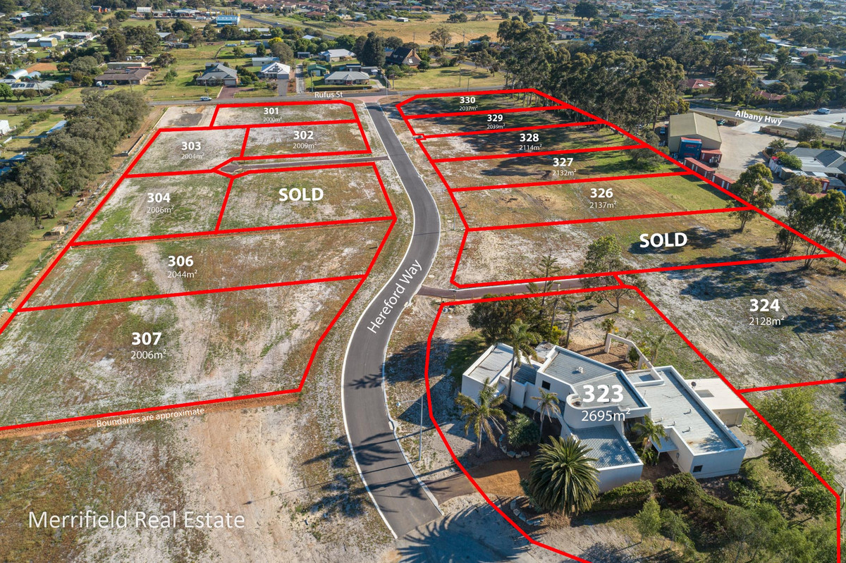 Lot 326 Hereford Way, Milpara WA 6330