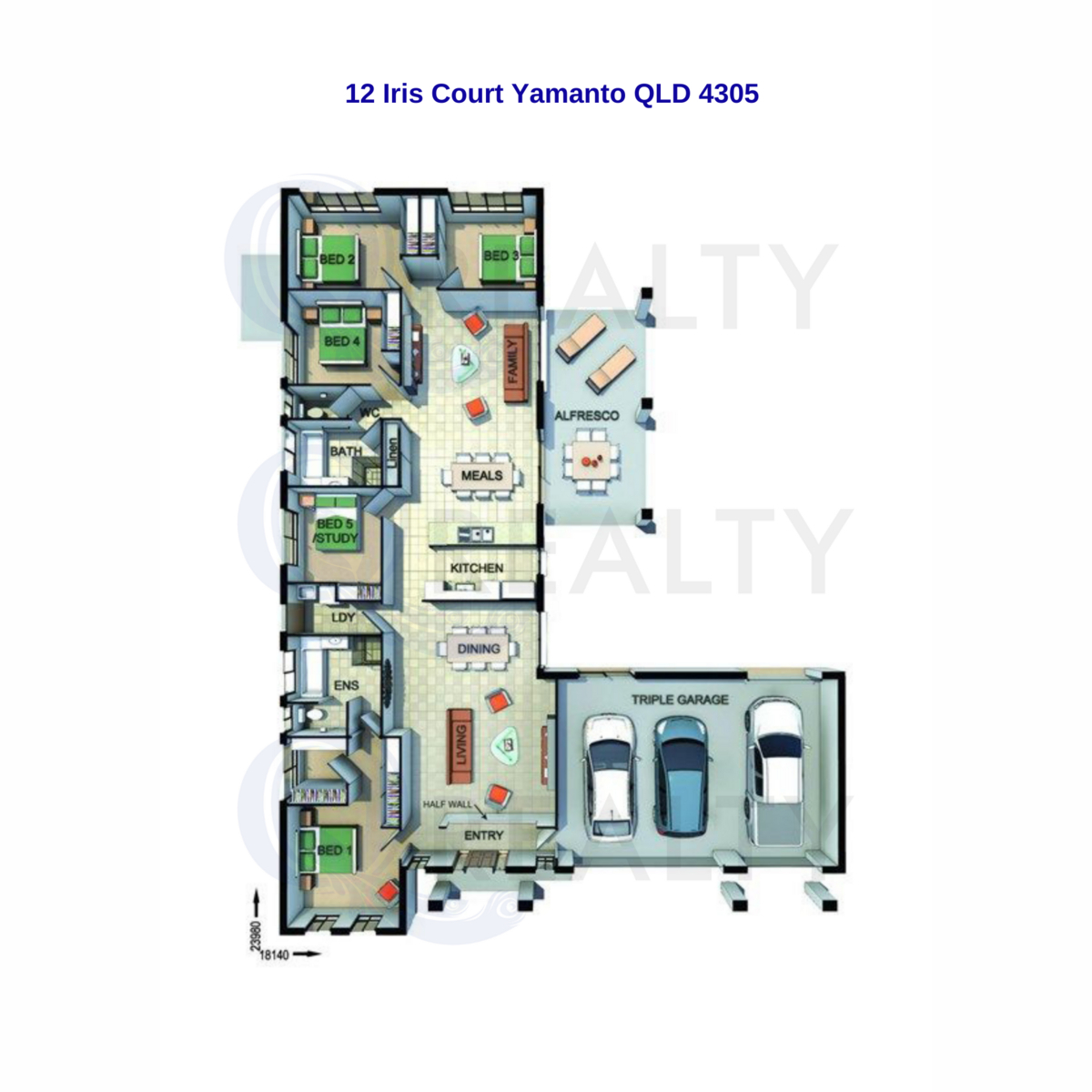 12 Iris Court, Yamanto  QLD  4305