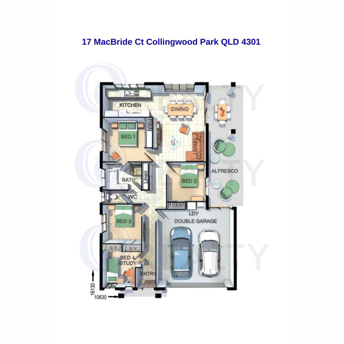 17 MacBride Court, Collingwood Park  QLD  4301