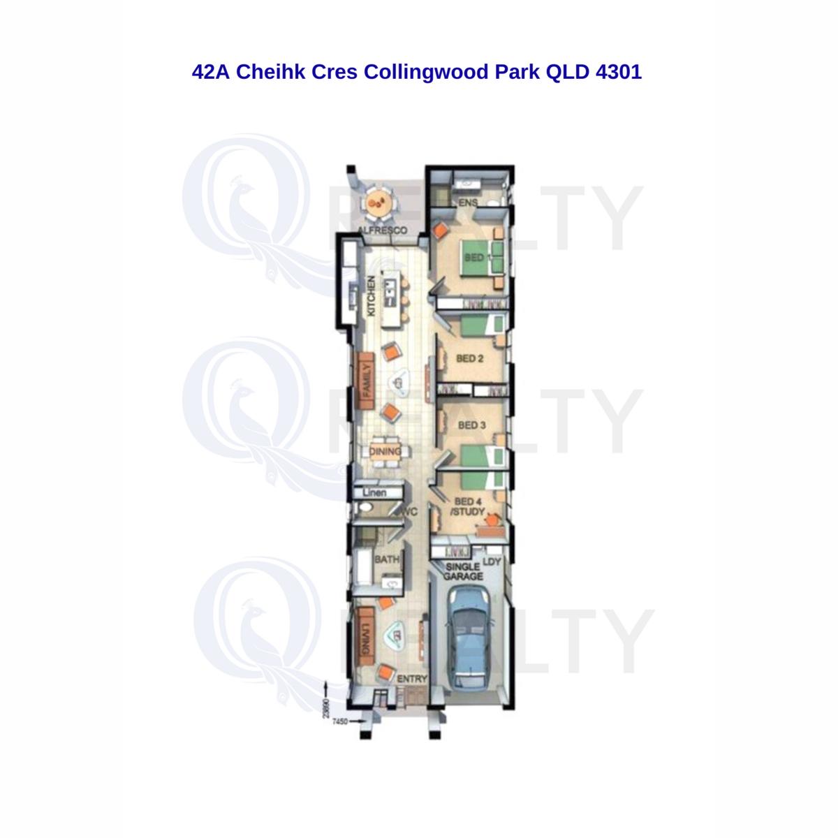 42A Cheihk Crescent, Collingwood Park  QLD  4301