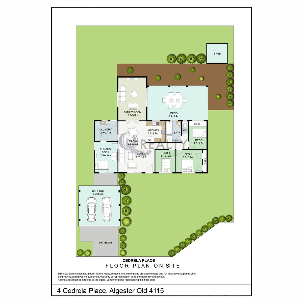 4 Cedrela Place, Algester  QLD  4115