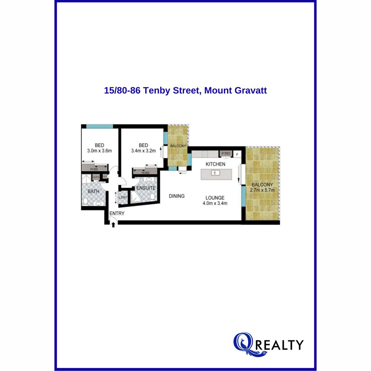 15/80-86 Tenby Street, Mount Gravatt  QLD  4122