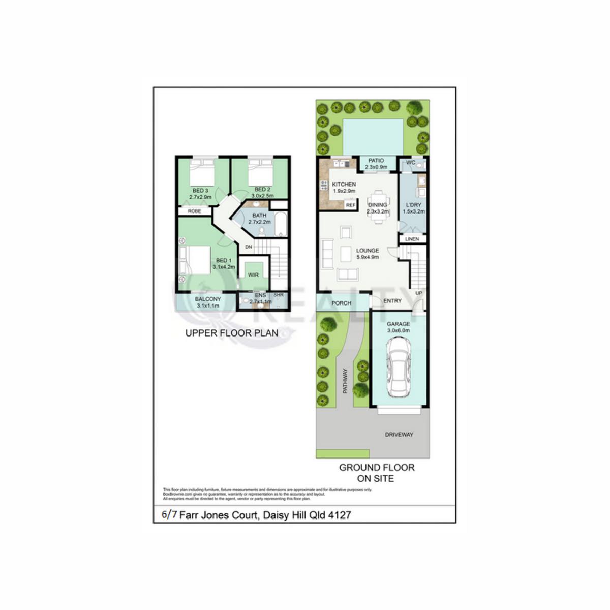6/7 Farr-Jones Court, Daisy Hill  QLD  4127