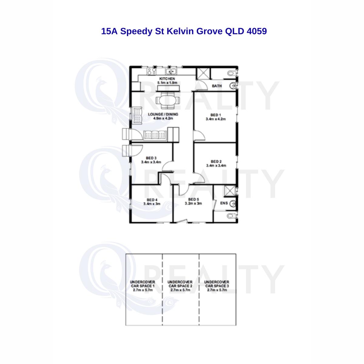 15A Speedy Street, Kelvin Grove  QLD  4059