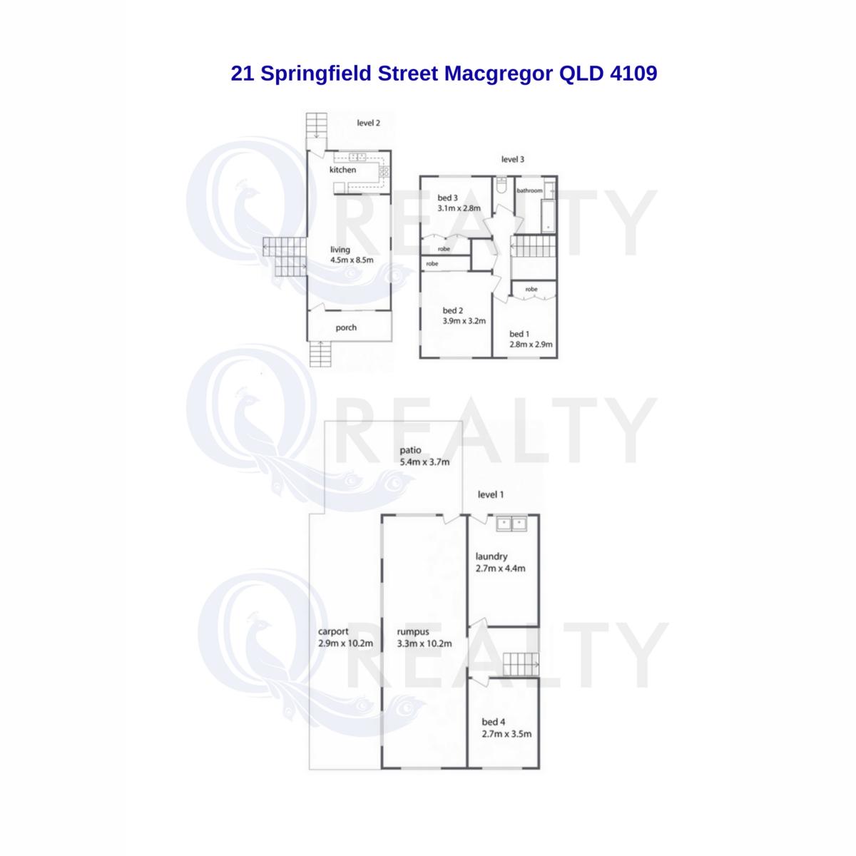 .21 Springfield Street, Macgregor  QLD  4109