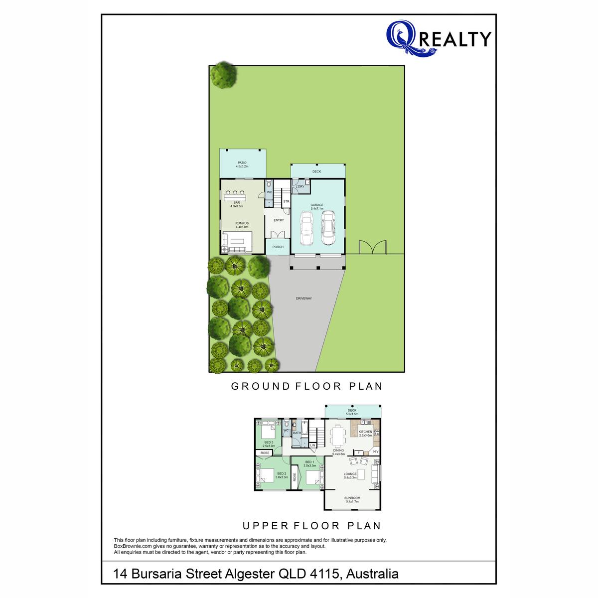 14 Bursaria Street, Algester  QLD  4115