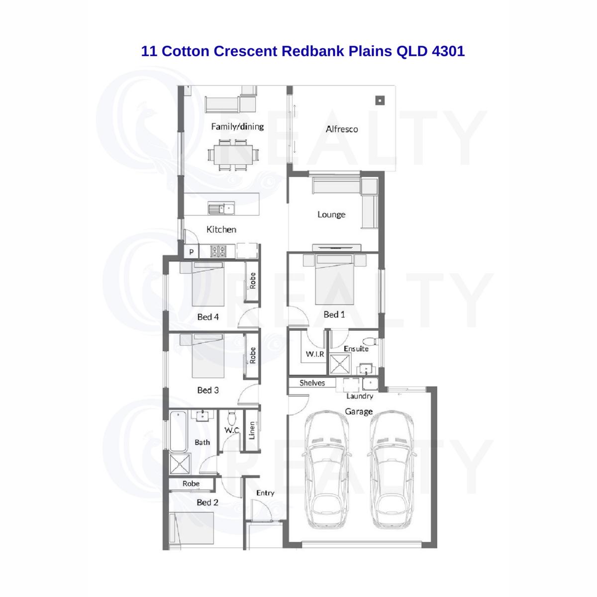 11 Cotton Crescent, Redbank Plains  QLD  4301