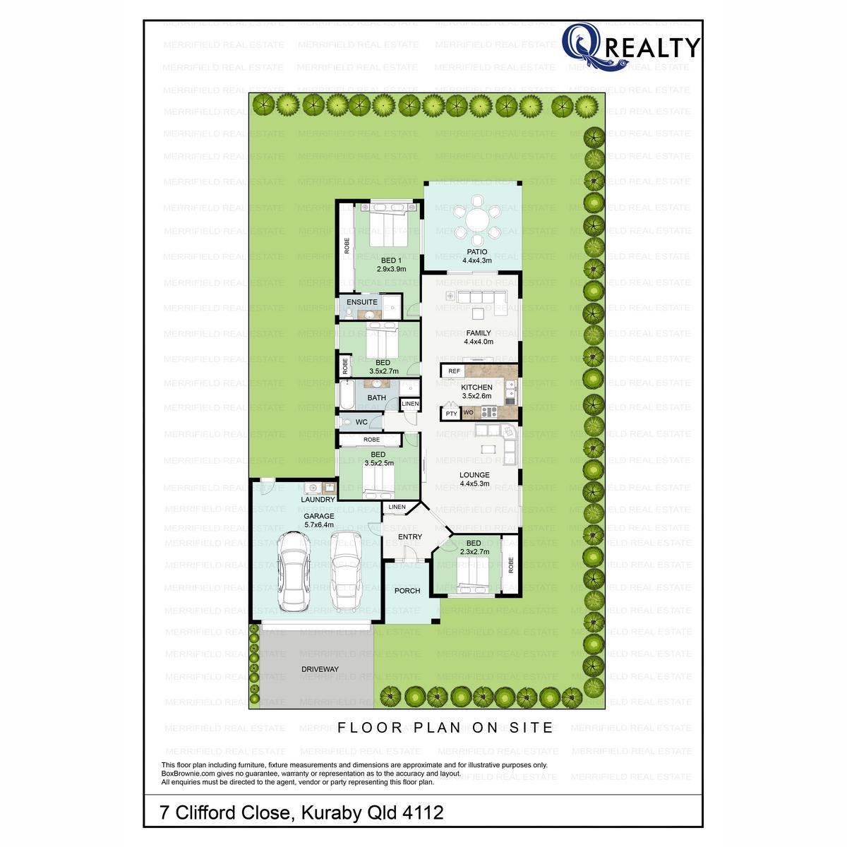 7 Clifford Place, Kuraby  QLD  4112