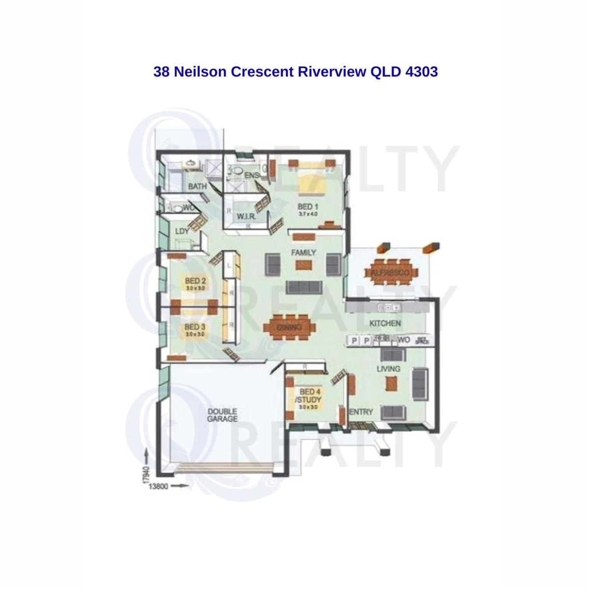 38. Neilson Crescent, Riverview  QLD  4303