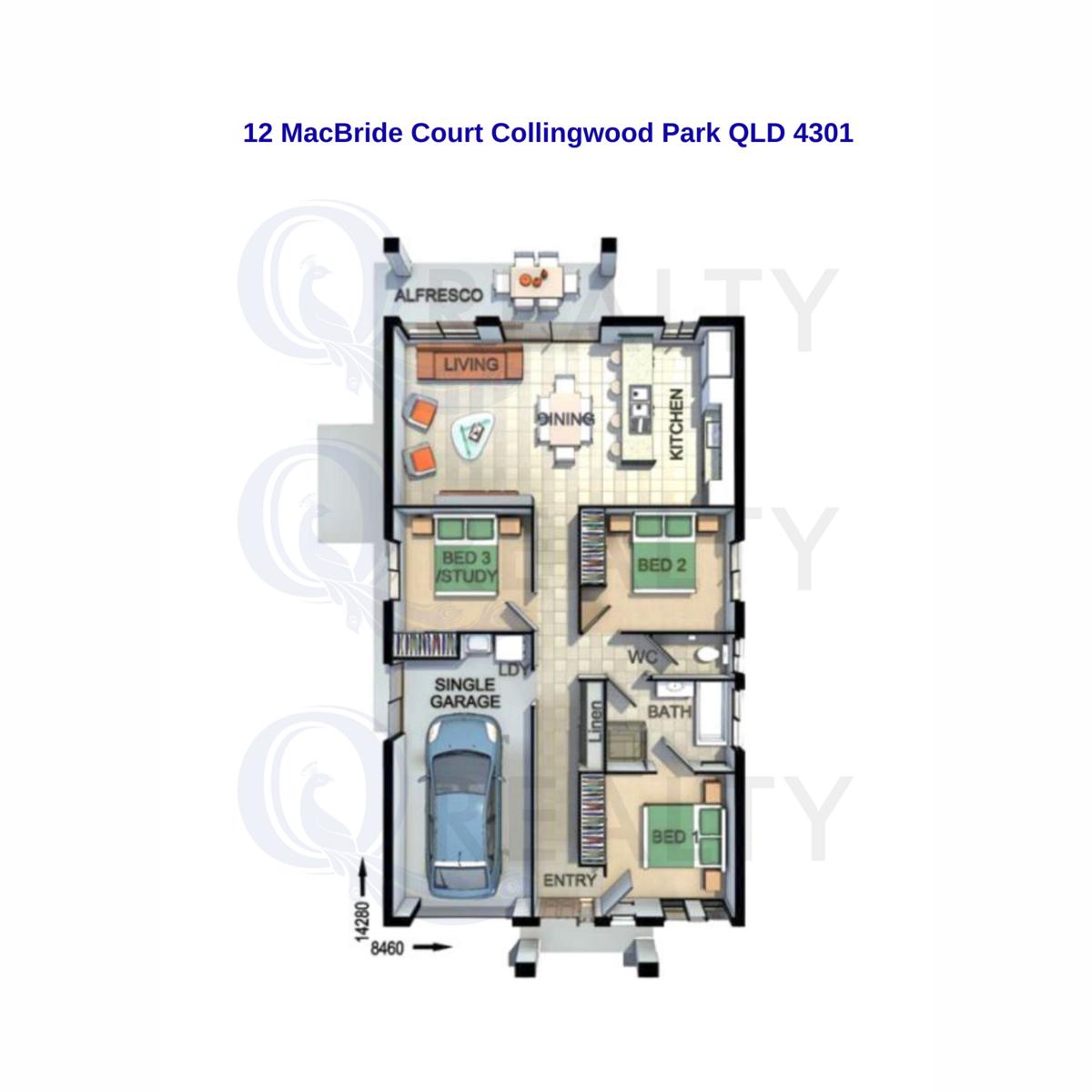 12. MacBride Court, Collingwood Park  QLD  4301
