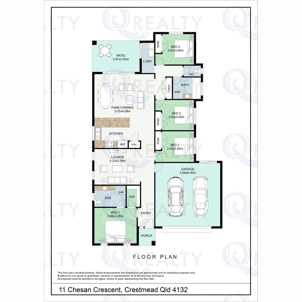 11 Chesan Court, Crestmead  QLD  4132