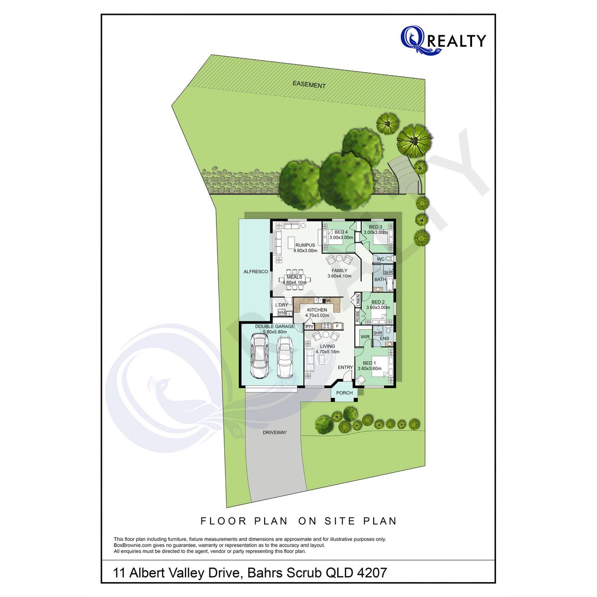 11 Albert Valley Drive, Bahrs Scrub  QLD  4207