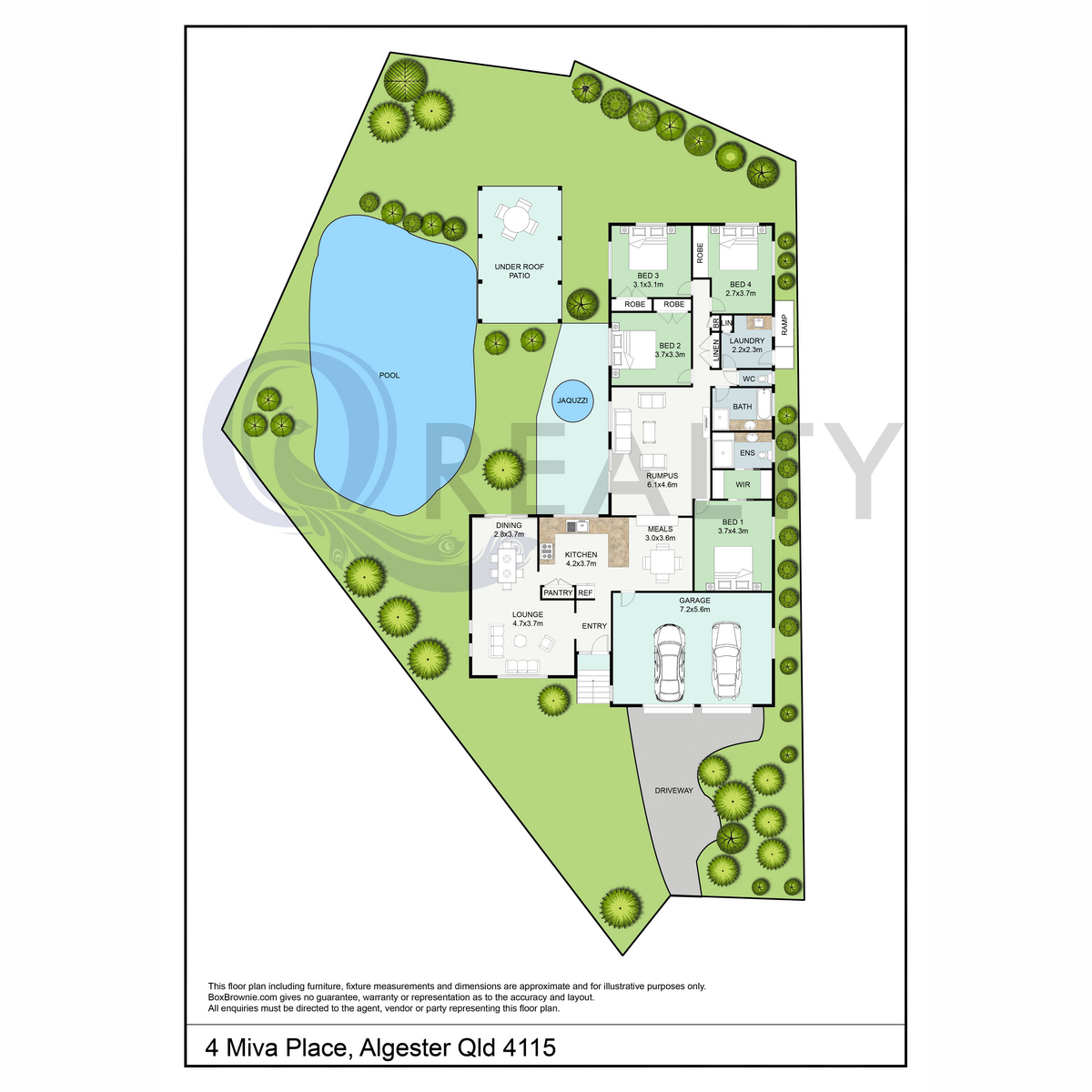 4 Miva Place, Algester  QLD  4115