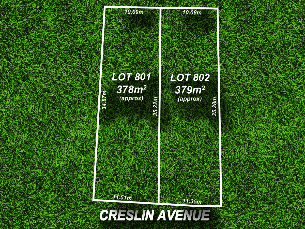 Lot 801 & 802 / 26 Creslin Avenue, Ingle Farm SA 5098 (2495879)