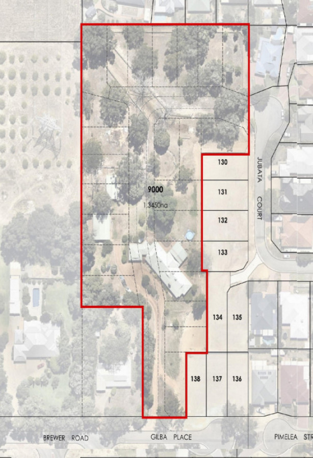 1.345HA with WAPC subdivision approval for 24 lots - Maida Vale